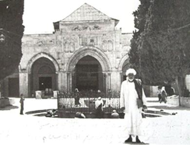الداعية الشريف الجفري في القدس الشريف