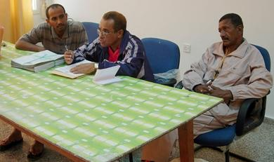 (وسط) الكابتن مصطفى سعيد ناصر في احدى محاضراته، الكابتن عمر محسن، الكابتن محمد داؤود