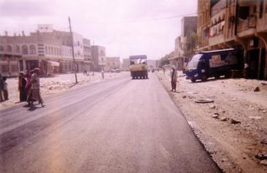 الشارع الخلفي لمدينة الحبيلين