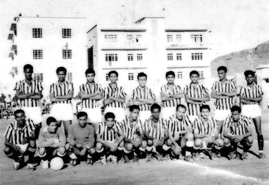 فريق نادي الحسيني الرياضي