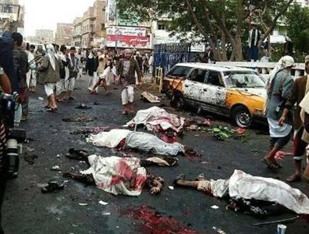 يستنكر حزب البعث العربي الاشتراكي فرع عدن المجزرة الإجرامية التي حدثت في صنعاء