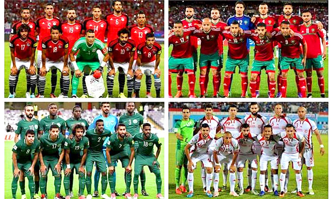 المنتخبات العربية في كأس العالم