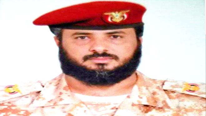 قائد الشرطة العسكرية بلحج العقيد صبري طاهر