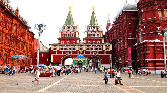 المتحف التاريخي وسط موسكو