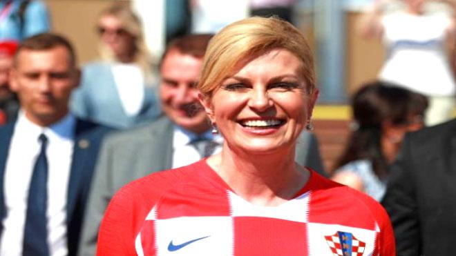 رئيسة كرواتيا السيدة كوليندا جرابار