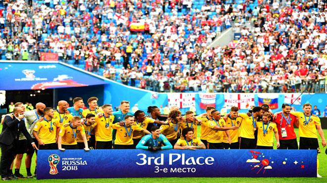 تتويج منتخب بلجيكا بالمركز الثالث لكأس العالم روسيا
