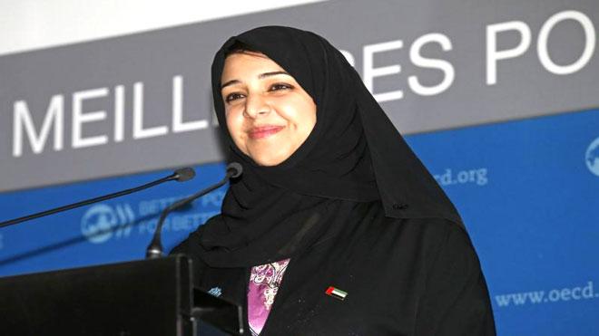 وزيرة الدولة لشؤون التعاون الدولي ريم الهاشمي