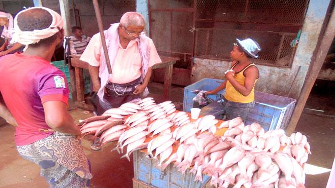 بائعون السمك