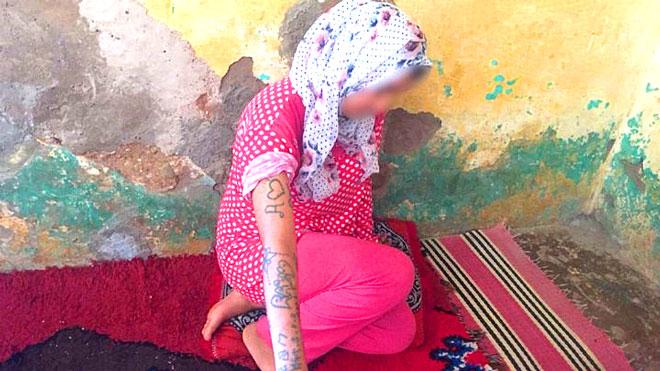 القاصر المغربية خديجة