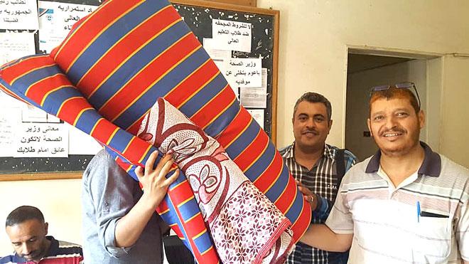 طلاب التعليم العالي والصحة اليمنيون المبتعثون إلى مصر