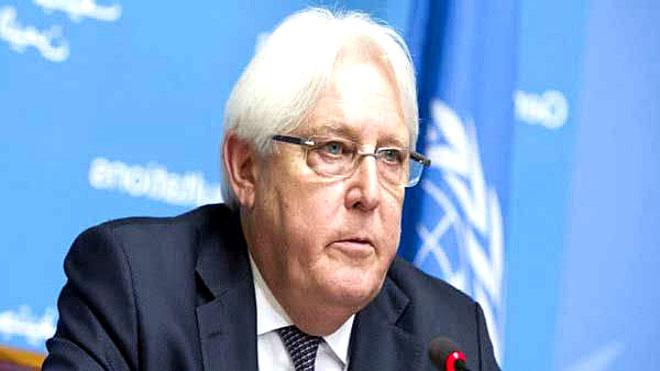 المبعوث الأممي مارتن جريفيثس