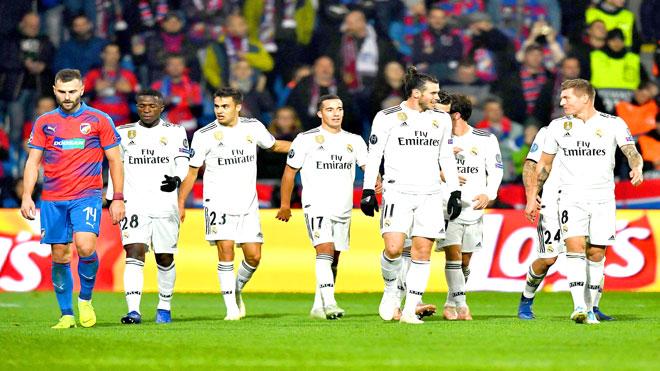 من مباراة ريال مدريد