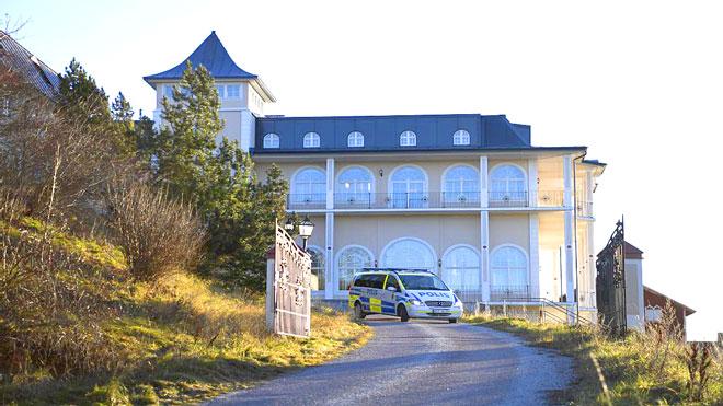 القصر الذي ستتم فيه المفاوضات مدينة ريمبو السويدية