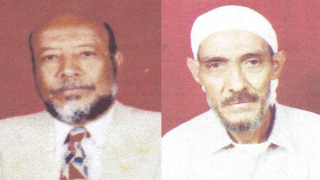 الكابتن توفيق عبده والكابتن علي محمد