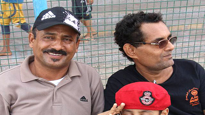 رئيس نادي الجزيرة الرياضي (الكابتن خالد علوي)