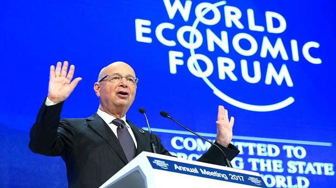 كلاوس شفاب، مؤسس المنتدى الاقتصادي العالمي