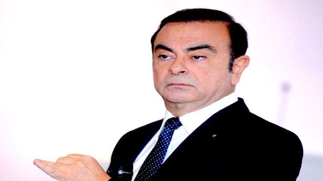 رجل الأعمال الفرنسي  كارلوس غصن