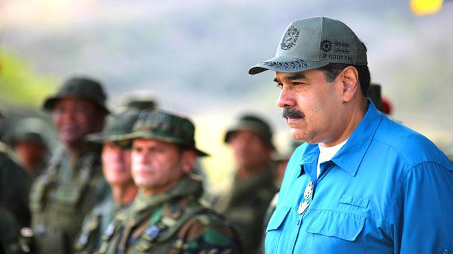 الزعيم الفنزويلي نيكولاس مادورو
