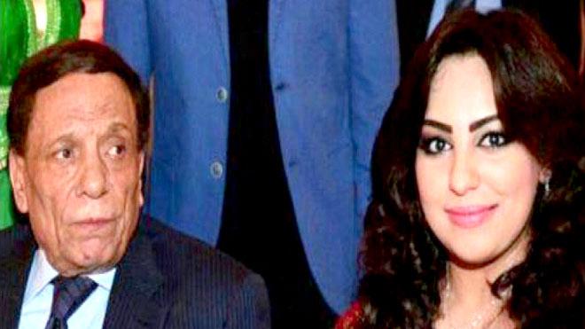 ريماس منصور مع عادل إمام