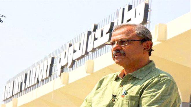 مدير مطار عدن الدولي، المهندس طارق عبده