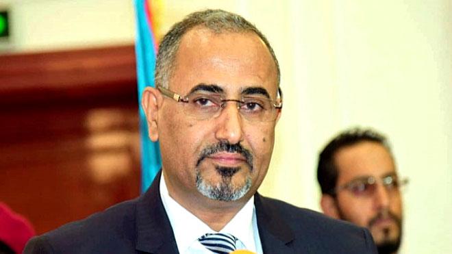 رئيس المجلس الانتقالي اللواء عيدروس الزبيدي