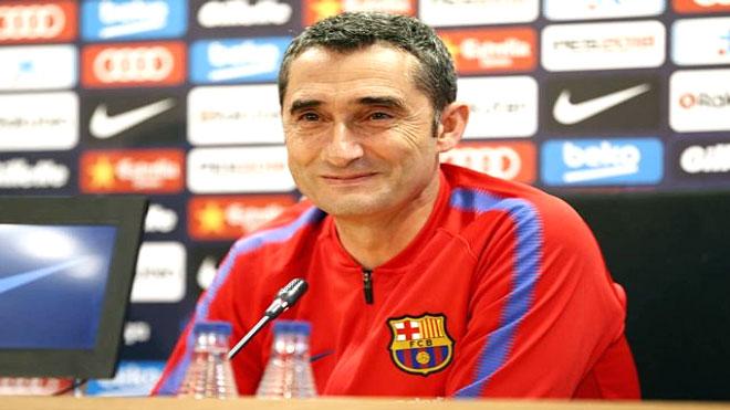 ارنستو فالفيردي مدرب فريق برشلونة