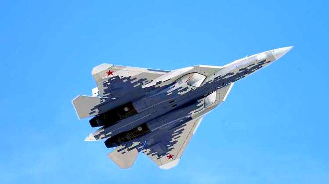"""مقاتلات """"سو-57"""" الشبحية"""