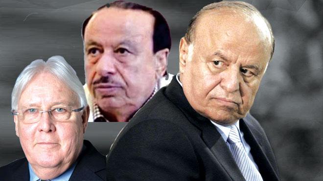 هادي يرفض عرضا حوثيا للإفراج عن شقيقه ناصر منصور