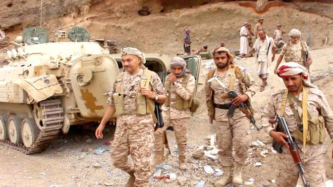 معسكرات المنطقة العسكرية الثالثة بمأرب