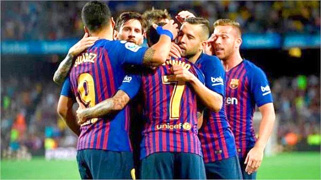 برشلونة يعاقب ريال مدريد بثلاثية في بيرنابيو ويتأهل لنهائي الكأس