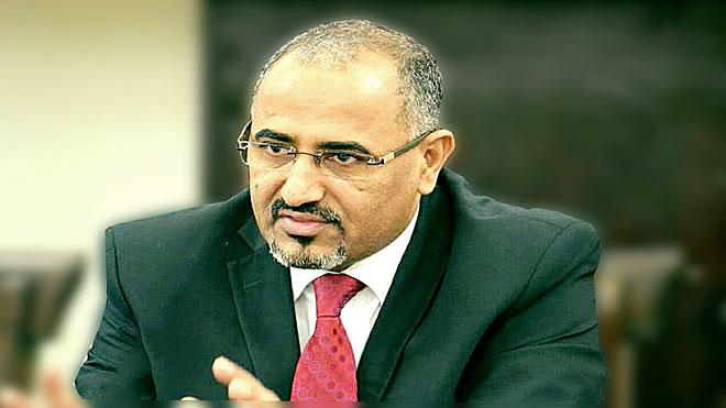 رئيس المجلس الانتقالي الجنوبي عيدروس قاسم الزبيدي