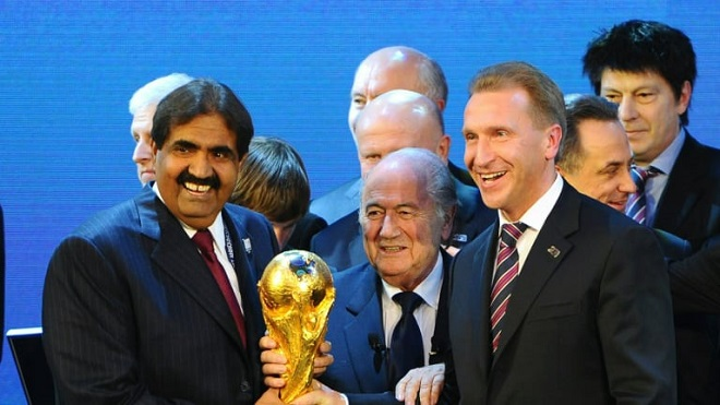 """صنداي تايمز: قطر فازت بتنظيم كأس العالم """"بعد دفع 880 مليون دولار سرا للفيفا"""""""