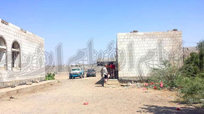 مبنى سجن أمن تبن