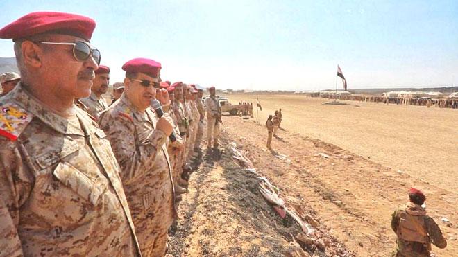جيش الشرعية بمأرب