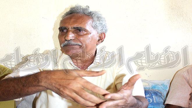 العميد عبده المعطري رئيس مجلس التنسيق الأعلى للمتقاعدين والمبعدين قسراً