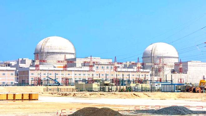 """محطة """"براكة"""" النووية"""