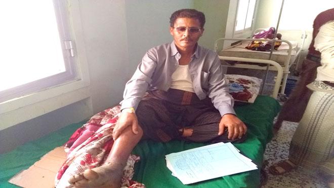 مريض يشكو إهمال مستشفى الرازي بجعار لحالته الصحية