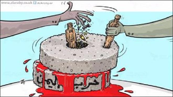 """""""شهود الزور"""" في معركة اليمنيين"""
