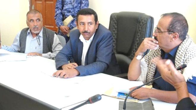 محافظ شبوة في عدن لمتابعة ومعالجة عدد من قضايا المحافظة