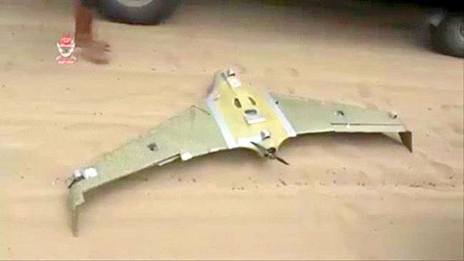 العمالقة تسقط طائرة مسيرة بالتحيتا