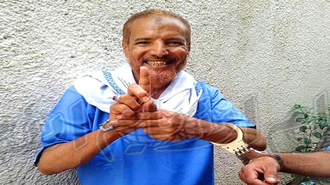 الأسير أحمد عمر العبادي المرقشي