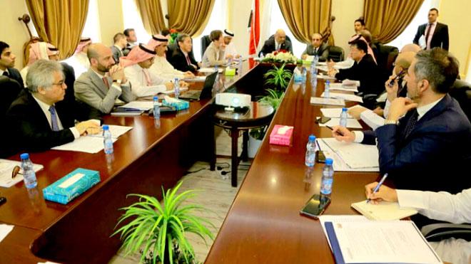 سفراء الدول الـ 19 الداعمة للعملية السياسية باليمن