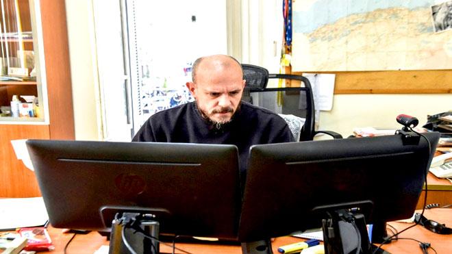 مدير وكالة فرانس برس في الجزائر إيمريك فنسنو