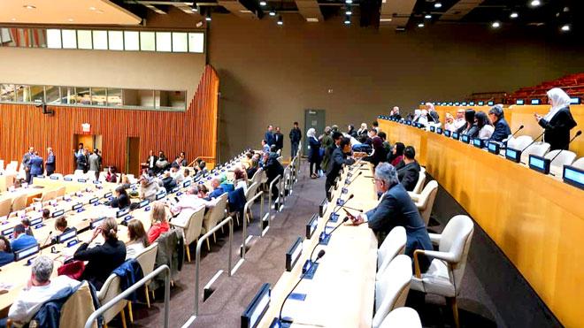 """10""""أيام قبل الزفة"""" في الأمم المتحدة"""
