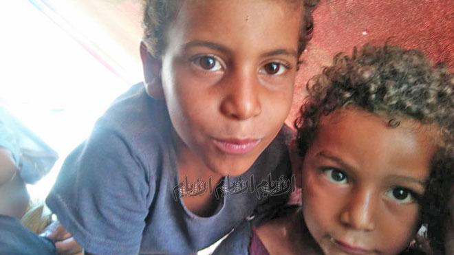 الطفلان مصطفى ومحمد