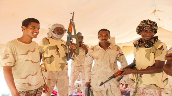 القوات السودانية المشاركة في التحالف العربي باليمن