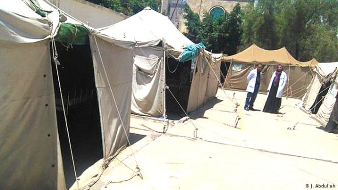 مخيمات ومراكز استقبال إضافية طارئة