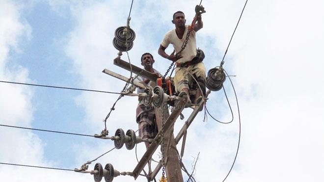 عمال كهرباء