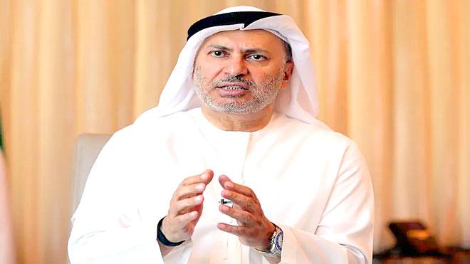 وزير الدولة الاماراتي للشؤون الخارجية أنور قرقاش