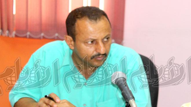 مدير مياه لحج عادل أحمد سعيد